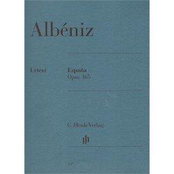 Albéniz, Isaac. España Op.165 (Piano) Urtext
