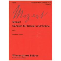Mozart. Sonatas para Violín y Piano Vol.2 Urtext