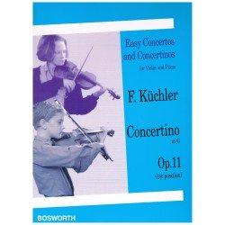 Kuchler, F. Concertino en Sol Mayor Op.11 para Violín y Piano (1ª Posición)