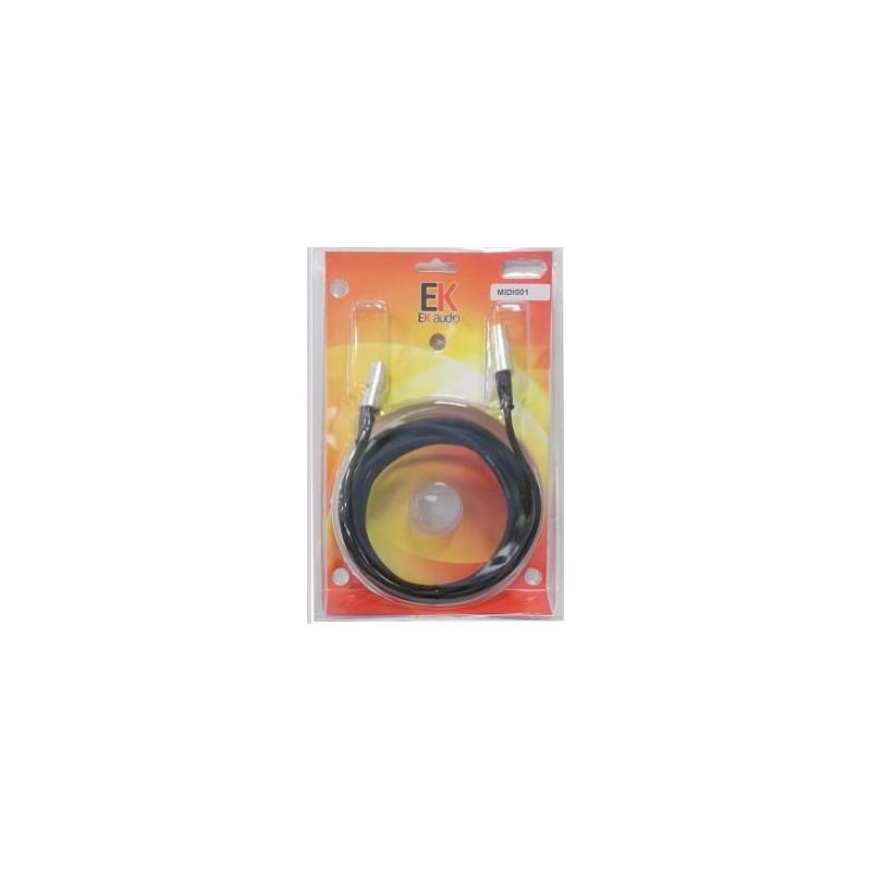 Cable Midi MIDI001 15mts