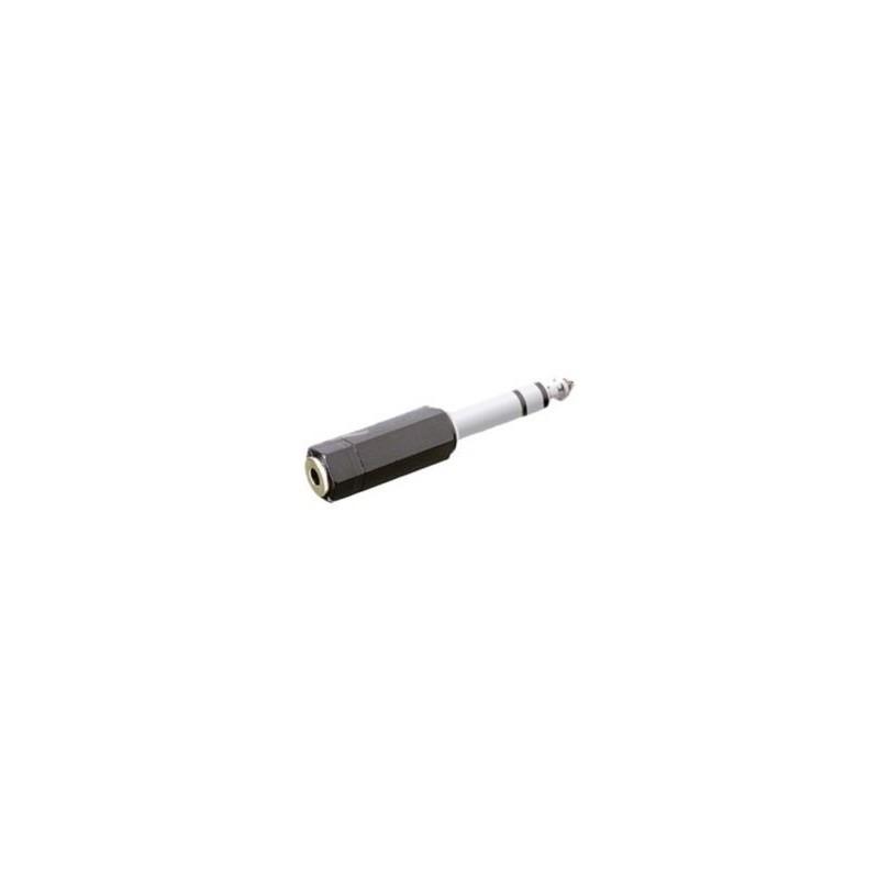 Adaptador MiniJack Stereo 35 mm Hembra Jack Stereo 1 4 A086