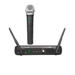 Microfono Inalambrico de mano EK audio Sistema WR 25 UHF