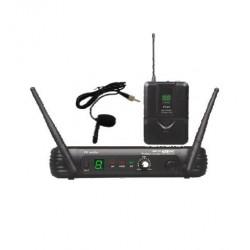 Microfono Inalambrico de solapa EK audio Sistema WR 25 UHF