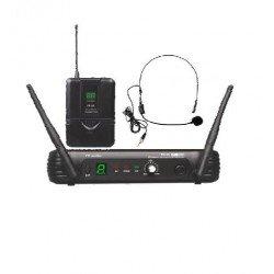 Microfono Inalambrico de cabeza EK audio Sistema WR 25 UHF