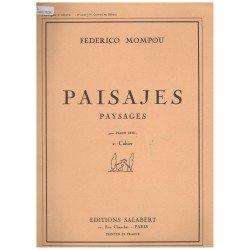 Mompou, Federico. Paisajes Vol.2 Carros de Galicia (Piano)