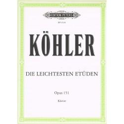 Kohler. Estudios Op.151 (Piano)