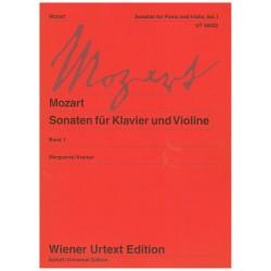 Mozart. Sonatas Para Violín y Piano Vol.1 Urtext