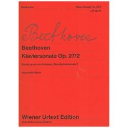 "Beethoven. Sonata Op.27/2 ""Mondscheinsonate"" (Piano)"