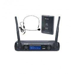 Microfono Inalambrico de cabeza EK audio Sistema WR 69L VHF