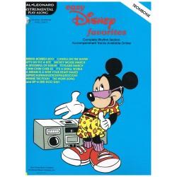 Disney. Easy Disney Favorites for Trombone (Acompañamientos Disponibles Online)