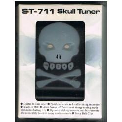 Afinador para Guitarra / Bajo Cherub Skull Tuner ST-711