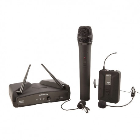 PROEL SISTEMA MIC. WIRELESS WM202KIT
