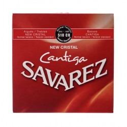 Cuerdas Savarez para Guitarra Clásica New Cristal Cantiga Juego de cuerdas