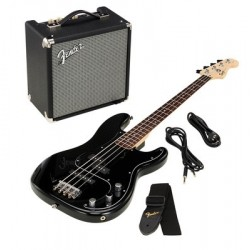 PACK SQUIER PJ BASS R15V3 BLK