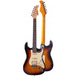 "Guitarra Electrica ""PRODIPE"" SERIE ST83-RA STRATOCASTER SUNB"
