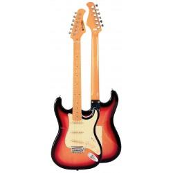 Guitarra Electrica PRODIPE SERIE ST80 MA STRATOCASTER SUNB