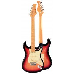 """Guitarra Electrica """"PRODIPE"""" SERIE ST80-MA STRATOCASTER SUNB"""