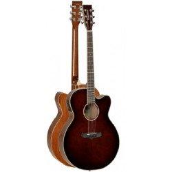 Guitarra Acustica TANGLEWOOD TW4SJWB Super Jumbo Cutaway