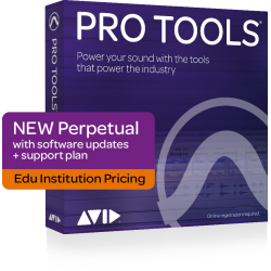 PRO TOOLS WITH ANNUAL UPGRADE AND SUPPORT PLAN Institutional Tarjeta Activacion