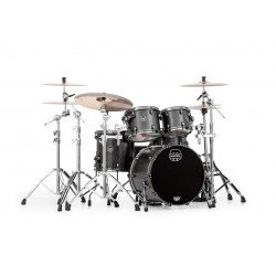 BATERIA MAPEX SATURN SV504XBKFB Flat Black Maple Burl