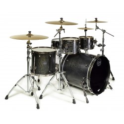 BATERIA MAPEX. SATURN SV529XBKFB. Flat Black Maple Burst