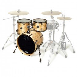 BATERIA MAPEX SATURN SV481XBKMXN Natural Maple Burl