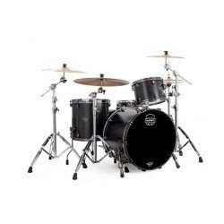 BATERIA MAPEX SATURN SV481XBKFB Flat Black Maple Burl