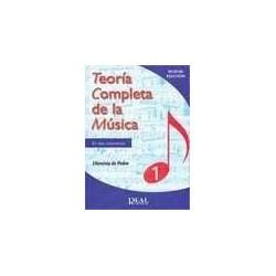 De Pedro, Dionisio. Teoría Completa de la Música 1. Edición Revisada
