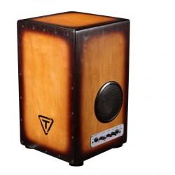 CAJON TYCOON GIG BOX 29 CON AMPLIFICADOR TKGBC 29 SO