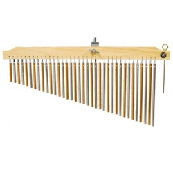 CORTINA TYCOON 36 BARRAS BRASS ALUMINIO NATURAL TIM 36 CG N