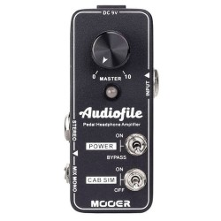 MOOER EFFECTS AUDIOFILE...