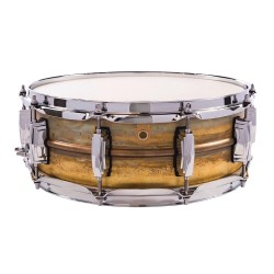 LUDWIG LB454R 14x5 Raw Brass Phonic