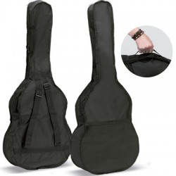 ACCOUSTIC GUITAR BAG REF.14-B-W BACKPACK WITH LOGO