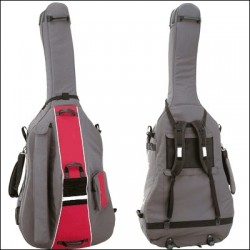 DOUBLE BASS BAG 3/4 WITH WEELS REF. LBS