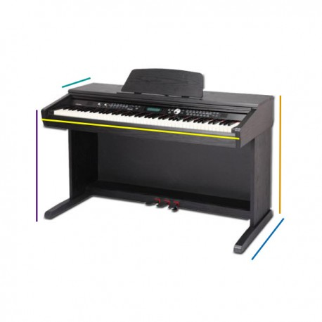 FUNDA PIANO DIGITAL CLAVINOVA CVP-605