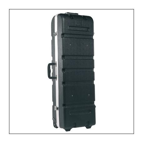 91X30X18 DRUM HARDWARE CASE ABS WITH WHEELS