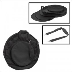45 CMS CYMBALS BAG 5 PARTITIONS