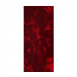 PICKGUARD 17X7 RED PEARL