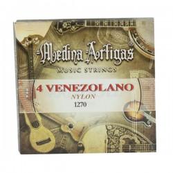 JUEGO CUERDAS CUATRO VENEZ. NYLON 1270 MEDINA ART.