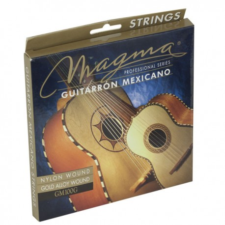 JUEGO CUERDAS GUITARRON MEXICANO GM100G MAGMA