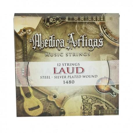JUEGO CUERDAS LAUD ACERO 1480 MEDINA ARTIGAS
