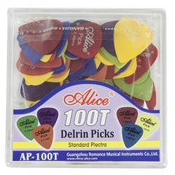 DERLIN PICKS PLASTIC BOX...