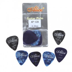GUITAR PICK 0.81MM 12 PCS. AP12081