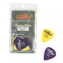 DELRIN PICKS 0.58MM CLAMSHELL AP12058T