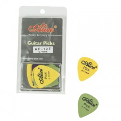 DERLIN PICKS 0.71MM CLAMSHELL AP12071T DERLIN