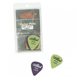 DERLIN PICKS 0.98MM CLAMSHELL AP12098T