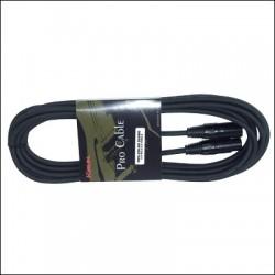 MPC-230-3M CABLE MICRO STANDART XLR M-XLR F