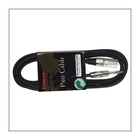 MPC-443PR-3M CABLE MICROFONO STANDART JACK-XLR
