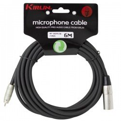 CABLE MICRO MP-485PR-6M XLR M- RCA
