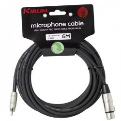CABLE MICRO MP-486PR-6M XLR F- RCA